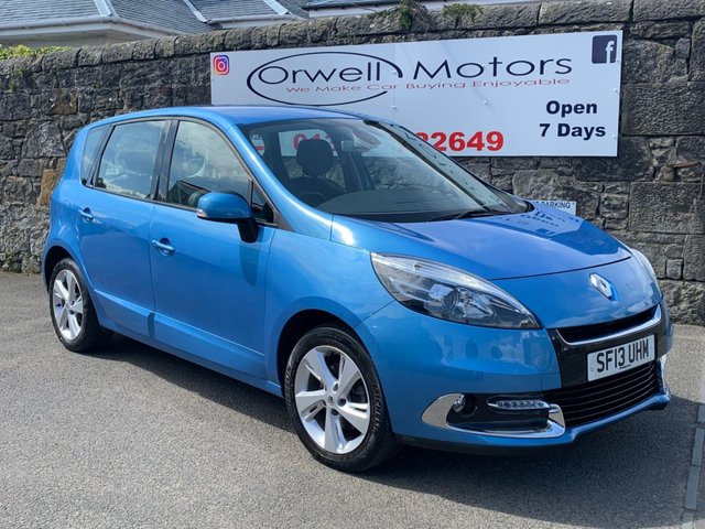 USED 2013 13 RENAULT SCENIC 1.5 DYNAMIQUE TOMTOM DCI 5d 110 BHP SATELLITE NAVIGATION+£30 ROAD TAX