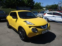 USED 2016 16 NISSAN JUKE 1.5 N-CONNECTA DCI 5d 110 BHP ABSOLUTELY STUNNING IN BRIGHT YELLOW !!