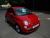 USED 2015 15 FIAT 500 1.2 POP STAR 3d 69 BHP ABSOLUTELY STUNNING LOW MILEAGE EXAMPLE !!