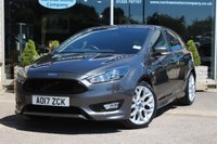 2017 FORD FOCUS 1.5 ST-LINE TDCI 5d 118 BHP £13010.00