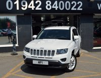 2013 JEEP COMPASS 2.1 CRD LIMITED 5d 161 BHP £8995.00