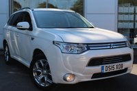 USED 2015 15 MITSUBISHI OUTLANDER 2.0 PHEV GX 4H 5d AUTO 162 BHP 1 OWNER. FULL SERVICE RECORD