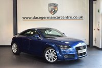 USED 2012 61 AUDI TT 2.0 TFSI SPORT 2DR 211 BHP + HALF BLACK LEATHER INTERIOR + FULL SERVICE HISTORY + SPORT SEATS + AUXILIARY PORT + HEATED MIRRORS + 17 INCH ALLOY WHEELS +
