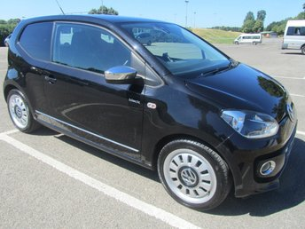 2012 VOLKSWAGEN UP 1.0 UP BLACK 3d 74 BHP £5291.00