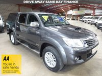 "USED 2015 65 TOYOTA HI-LUX 3.0 INVINCIBLE 4X4 D-4D DOUBLE CAB PICK UP 169 BHP -SAT NAV - ""YOU'RE IN SAFE HANDS"" - AA DEALER PROMISE"