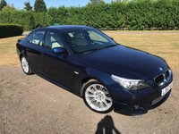 USED 2007 57 BMW 5 SERIES 2.0 520D M SPORT 4d 175 BHP Full Service History, MOT 06/19 Full Service History, MOT 06/19, Recently Serviced, Very Very Clean And Tidy Example, Full Tan Leather Upholstery, Electric Seats, Cd/Stereo/Aux In, Unkerbed 19in MSport Alloys, Cruise Control, Climate Aircon, Auto Lights On, Auto Wipers, Dimming Mirrors, Front And Rear Parking Sensors, Full Set Of Cream Carpet Mats Also Black Carpet Over Mats, Recently Had Dual Mass Flywheel And Clutch Replaced, Drives And Looks Superb,