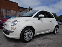 USED 2013 13 FIAT 500 1.2 LOUNGE 3d 69 BHP 32,000 MILES 1 FORMER KEEPER £30 ROAD TAX