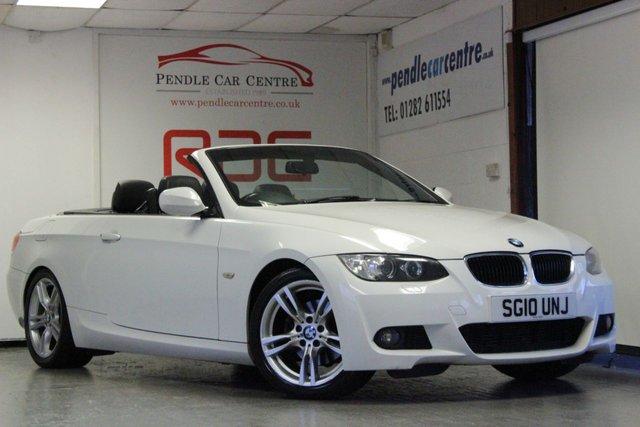 2010 10 BMW 3 SERIES 2.0 320D M SPORT 2d AUTO 175 BHP