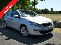 USED 2016 16 PEUGEOT 308 1.6 BLUE HDI S/S ACTIVE 5d 100 BHP