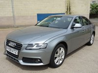 USED 2009 09 AUDI A4 2.0 TDI SE 4d AUTO 141 BHP TIMING BELT AND WATER PUMP CHANGED  +  MOT APRIL 2019 +  SERVICE RECORD +  2 PREVIOUS KEEPERS +