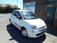 USED 2016 65 FIAT 500 1.2 POP 3d 69 BHP ONE Owner FULL Service History