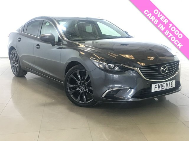 View our 2015 15 MAZDA 6 2.2 D SPORT NAV 4d AUTO 173 BHP