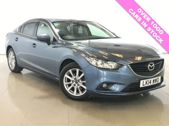 View our 2014 14 MAZDA 6 2.2 D SE-L NAV 4d 148 BHP