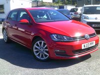2013 VOLKSWAGEN GOLF 2.0 GT TDI BLUEMOTION TECHNOLOGY 5d 148 BHP £SOLD