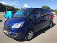 2015 FORD TRANSIT CUSTOM 290 LIMITED DOUBLE CAB 6-SEATER 2.2 TDCi 155 H1 L2 LWB £17495.00