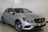 USED 2015 64 MERCEDES-BENZ A CLASS 1.5 A180 CDI BLUEEFFICIENCY SPORT 5DR AUTOMATIC 109 BHP MERCEDES SERVICE HISTORY + CRUISE CONTROL + BLUETOOTH + MULTI FUNCTION WHEEL + RADIO/CD + AIR CONDITIONING + 17 INCH ALLOY WHEELS