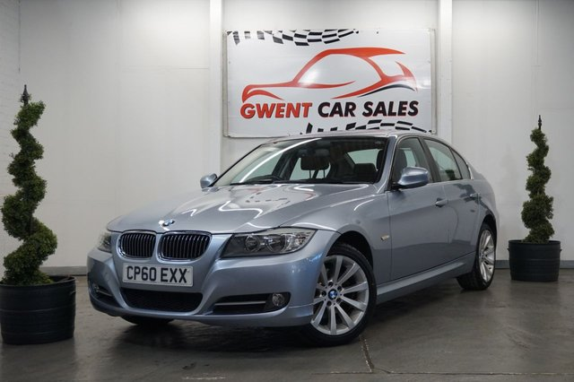 USED 2010 60 BMW 3 SERIES 2.0 318D EXCLUSIVE EDITION 4d 141 BHP *FULL LEATHER, AIR CON, GREAT SERVICE HISTORY, LOW TAX, STOP/START*