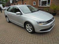 2012 VOLKSWAGEN JETTA 1.6 SE TDI BLUEMOTION TECHNOLOGY 4d 104 BHP £6295.00