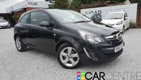 USED 2013 63 VAUXHALL CORSA 1.2 SE 3d 83 BHP HALF LEATHER + HEATED SEATS