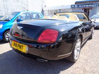 USED 2007 07 BENTLEY CONTINENTAL 6.0 GTC 2d AUTO 550 BHP **Full Service History 9 Services 12 Months Mot**