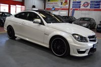 USED 2011 61 MERCEDES-BENZ C CLASS 6.2 C63 AMG EDITION 125 2d AUTO 457 BHP