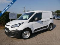 USED 2014 14 FORD TRANSIT CONNECT 1.6 220 P/V 1d 94 BHP ONE FORMER KEEPER, FULL FORD HISTORY, 2 KEYS, 3 FORD SERVICE STAMPS