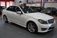2013 MERCEDES-BENZ C CLASS 2.1 C250 CDI BLUEEFFICIENCY AMG SPORT 4d AUTO 202 BHP £13485.00
