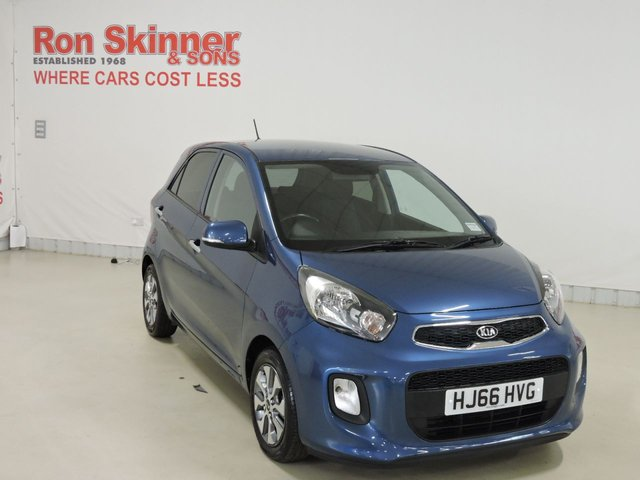 View our 2016 66 KIA PICANTO 1.0 2 ISG 5d 65 BHP