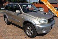 2005 TOYOTA RAV4 2.0 XT4 D-4D 5d 114 BHP £2495.00