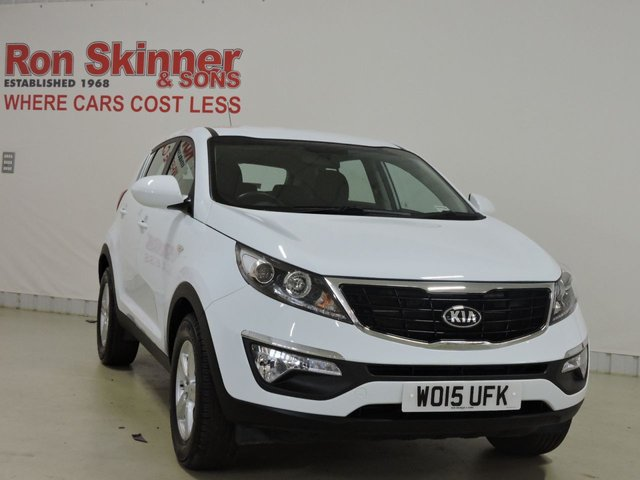 View our 2015 15 KIA SPORTAGE 1.6 1 5d 133 BHP