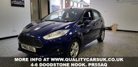 USED 2015 65 FORD FIESTA 1.5 ZETEC TDCI 5d 74 BHP Excellent 1st car with low running costs