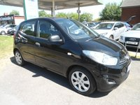 USED 2011 61 HYUNDAI I10 1.2 CLASSIC 5d 85 BHP 5 SERVICE STAMPS