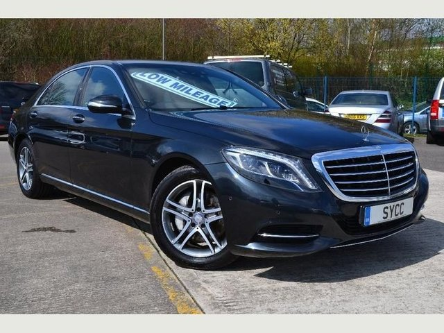 USED 2014 14 MERCEDES-BENZ S CLASS 3.0 S350 BLUETEC L SE LINE 4d AUTO 258 BHP STUNNING S350 CDI ~ GENUINE 19,000 MILES ~ FULL MERCEDES SERVICE RECORDS