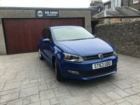 USED 2014 63 VOLKSWAGEN POLO 1.2 MATCH EDITION TDI 5d 74 BHP VERY ECONOMICAL 5DR WITH OVER 72MPG - ONLY £20 YR ROAD TAX - BLUETOOTH - DAB