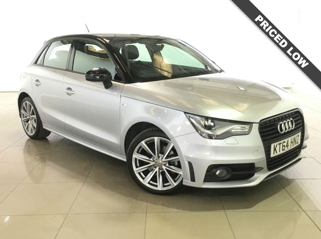 View our 2015 64 AUDI A1 1.6 SPORTBACK TDI S LINE STYLE EDITION 5d 103 BHP