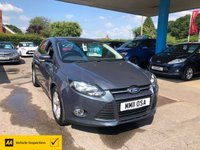 USED 2011 11 FORD FOCUS 1.6 ZETEC 5d 124 BHP NEED FINANCE? WE CAN HELP!
