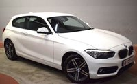 2016 BMW 1 SERIES 2.0 118D SPORT 3d 147 BHP £13790.00