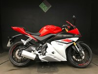 USED 2015 65 YAMAHA YZF R125 ABS. 1360 MILES. 1 OWNER. TIDY BIKE. 2 SERVICES.