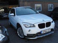 2012 BMW X1 2.0 XDRIVE18D XLINE 5d AUTO 141 BHP £9480.00