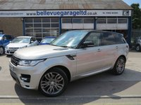 USED 2015 64 LAND ROVER RANGE ROVER SPORT 4.4 AUTOBIOGRAPHY DYNAMIC 5d AUTO 339 BHP