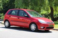 2004 FORD FIESTA 1.6 GHIA 16V 5d AUTO 100 BHP £2350.00