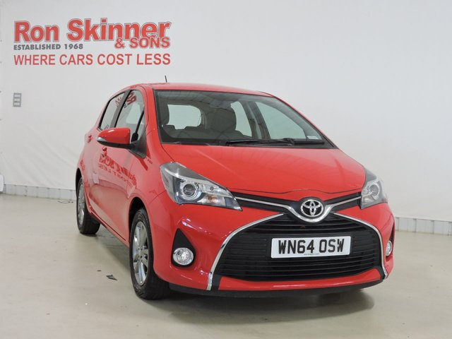 View our 2014 64 TOYOTA YARIS 1.3 VVT-I ICON 5d 99 BHP