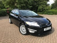 USED 2014 14 FORD MONDEO 2.0 ZETEC BUSINESS EDITION TDCI 5d 161 BHP