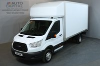 USED 2016 16 FORD TRANSIT 2.2 350 124 BHP L4 EXTRA LWB TAIL LIFT FITTED LUTON VAN ONE OWNER FROM NEW, MOT UNTIL 20/06/2019