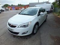 USED 2011 11 VAUXHALL ASTRA 1.6 EXCITE 5d 113 BHP