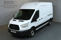 USED 2014 14 FORD TRANSIT 2.2 350 99 BHP L3 H3 LWB HIGH ROOF ONE OWNER FROM NEW