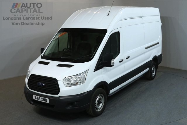 2014 14 FORD TRANSIT 2.2 350 99 BHP L3 H3 LWB HIGH ROOF ONE OWNER FROM NEW
