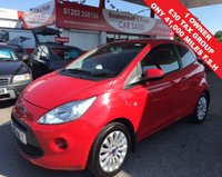 USED 2013 13 FORD KA 1.2 ZETEC *ONLY 41,000 MILES* 1 OWNER