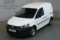 USED 2015 65 VOLKSWAGEN CADDY 1.6 C20 TDI STARTLINE 101 BHP FWD SWB AIR CON PANEL VAN ONE OWNER / AIR CONDITIONING