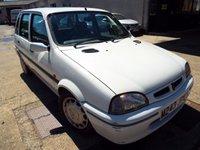 1995 ROVER 100 1.4 114 SLI 5d 74 BHP £999.00